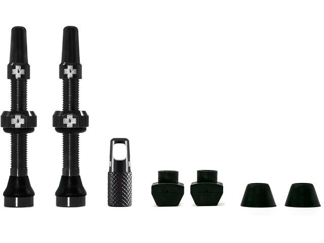 Muc-Off MTB & Road Tubeless Valve Kit 60mm, zwart